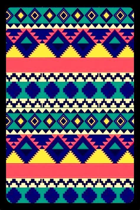 wallpaper iphone ethnic cocoppa green purple pink yellow white blue pattern