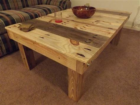 diy table removable legs diy pallet coffee table with removable legs 101 pallets