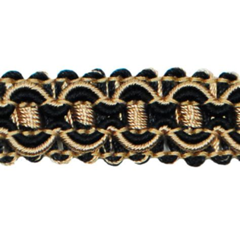 upholstery braid and trimmings black gold gimp sewing upholstery trim 34