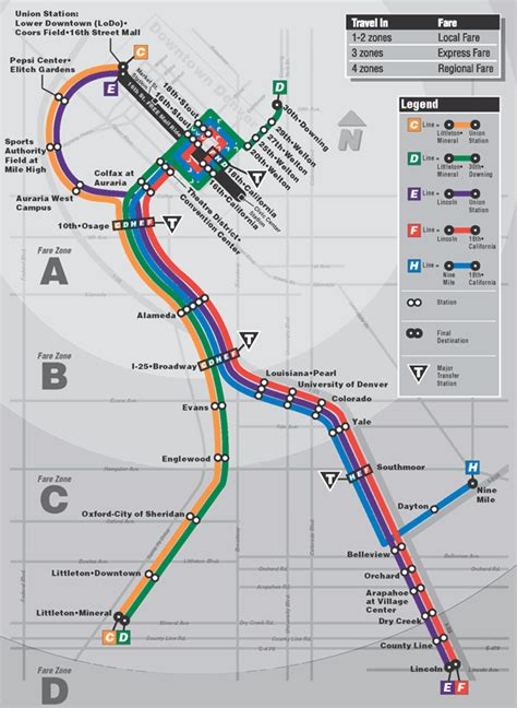 Light Rail Route by Transit Maps
