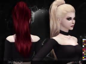 custom contant hair in the sims 4 paradox female hair by stealthic at tsr 187 sims 4 updates