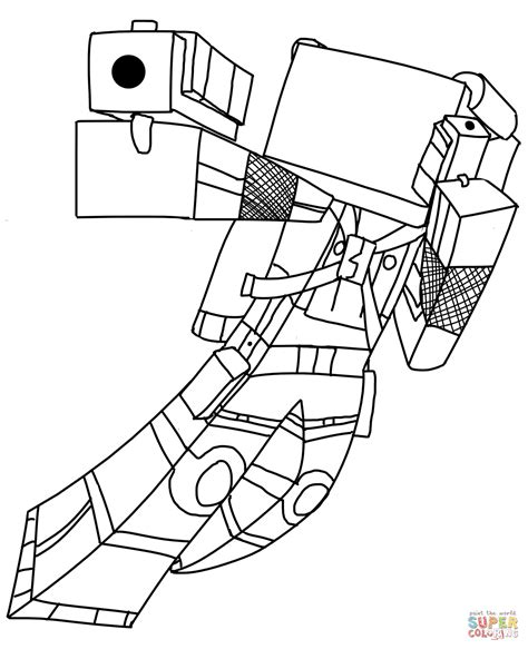 coloring pages minecraft minecraft coloring pages cat coloring home