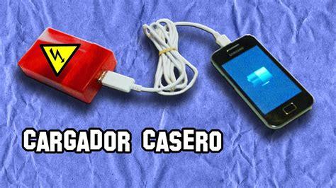 como hacer un cargador para moviles crea un cargador casero para tu smartphone