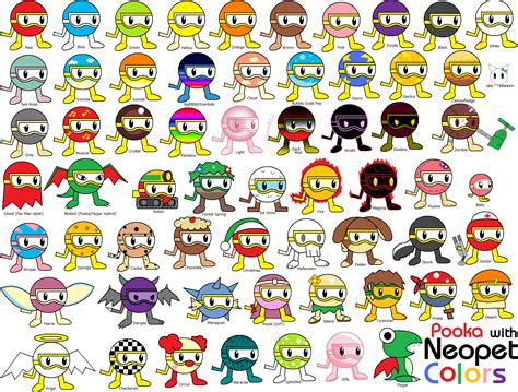 neopet colors pooka with neopet colors by jigglypuffgirl on deviantart