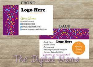 usborne business cards usborne books and more consultant business card design
