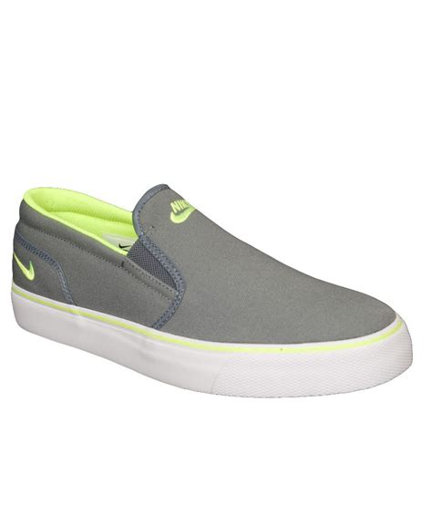 nike gray lifestyle canvas shoes n724762071 buy