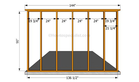 wall blueprints door frame how to build a stud wall with door frame