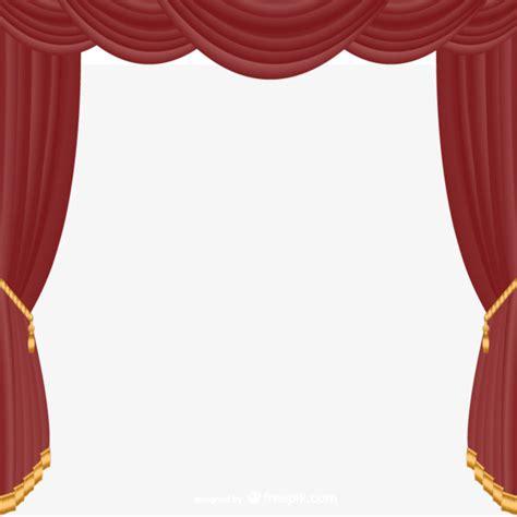 cortinas teatro a cortina de vector vermelho a cortina teatro png e vetor