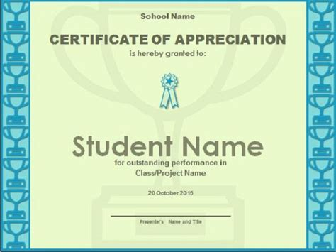 ppt templates for appreciation 31 free certificate of appreciation templates and letters