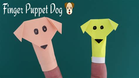 How To Make Puppets Out Of Paper - finger puppet diy origami tutorial by paper