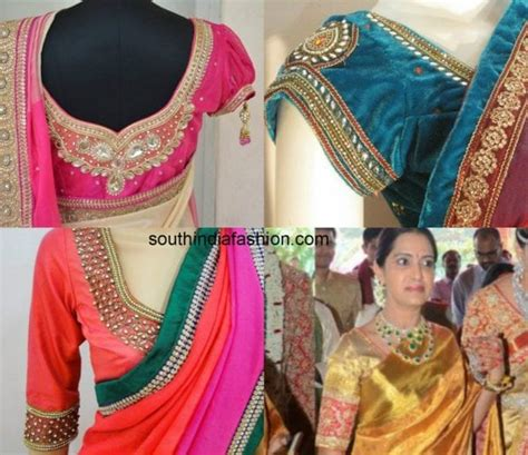 Blouse Bordir 1 border blouse patterns