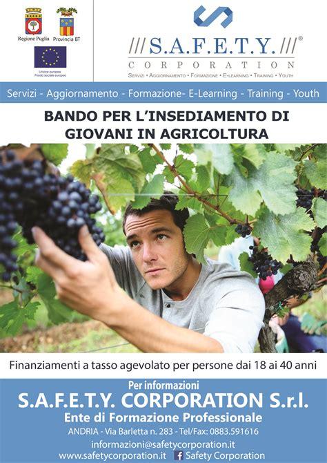 istituto di servizi per il mercato agricolo alimentare safety corporation bando ismea per l insediamento di
