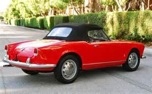 1961 Alfa Romeo Giulietta Spider 1961 Alfa Romeo Giulietta Spider Fully Restored Auto