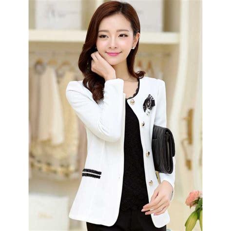 Blazer Wanita blazer wanita korea t2561 moro fashion