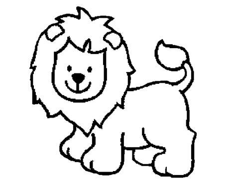 dibujos para colorear de leones actividades infantiles y image gallery leon para colorear