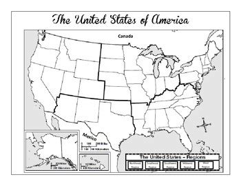 Us Regions Worksheets by Pictures United States Regions Worksheets Getadating