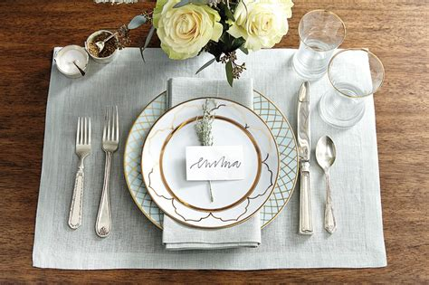 silver place settings 15 holiday place setting ideas how to decorate