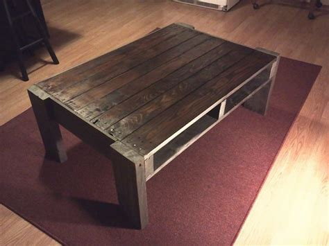 Coffee Table Project Diy Recycled Pallets Coffee Table Project Pallet Ideas Recycled Upcycled Pallets Furniture