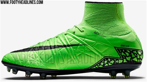sock boots size 2 green nike hypervenom ii 2015 boots released footy headlines