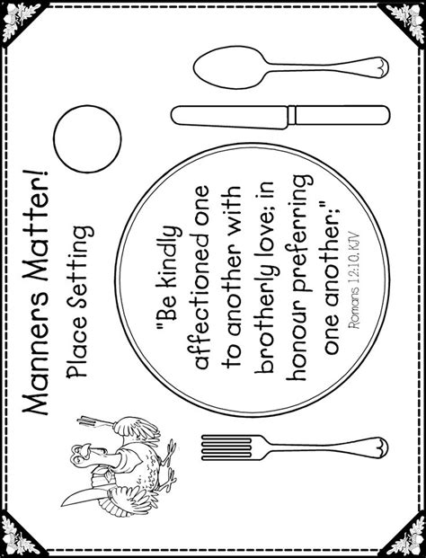 placemat template 11 images of coloring pages printable thanksgiving