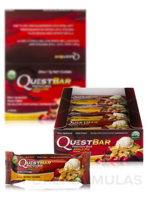 top quest bar flavors top quest bar flavors quest bar 174 apple pie flavor