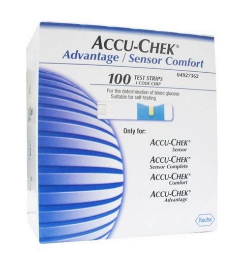 accu chek comfort test strips 100 test strips for accu chek advantage sensor comfort