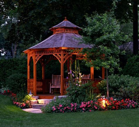 gazebo in garden 32 garden gazebo ideas for creating your garden refuge 1