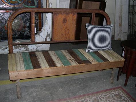 a frame bench wooden bench from a metal frame bed bed frame benches