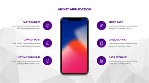 Applala Mobile Application Powerpoint Template By Hemalaya1 Graphicriver T Mobile Powerpoint Template