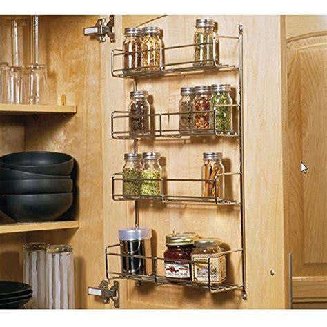 Wide Spice Rack Knape Vogt Sr18 1 Fn Door Mounted Spice Rack Cabinet