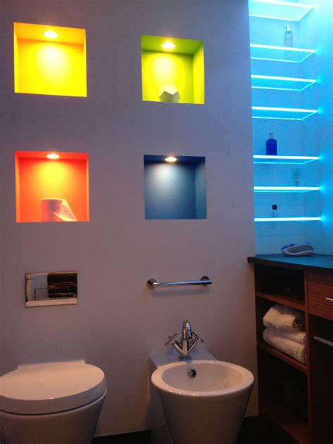 Modern Bathroom Led Lighting Led Bathroom Shower Lighting Modern Bathroom Vanity