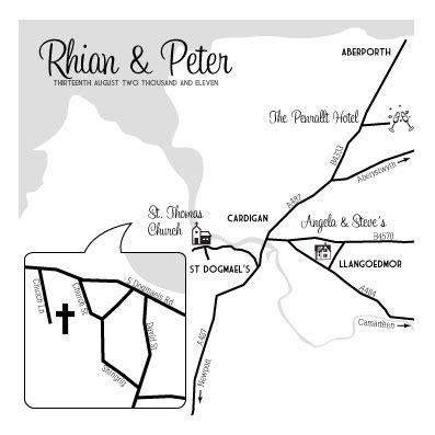 how to draw a map for wedding invitation custom wedding invitation maps