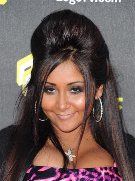 snooki cuts hair short collection of hairstyles with puff fashion trend