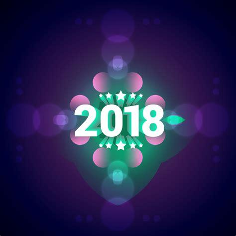 colorful happy new year 2018 2018 happy new year colorful background