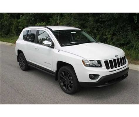 white jeep compass black rims jeep compass 2012 would love to do this with my new baby