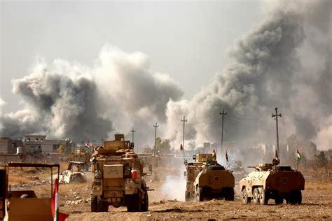 War Correspondents Describe Recent U.S. Airstrikes in Iraq ... Iraq 2017