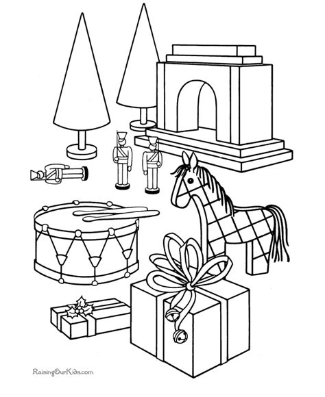 coloring pages christmas toys christmas train coloring pages toy coloring home