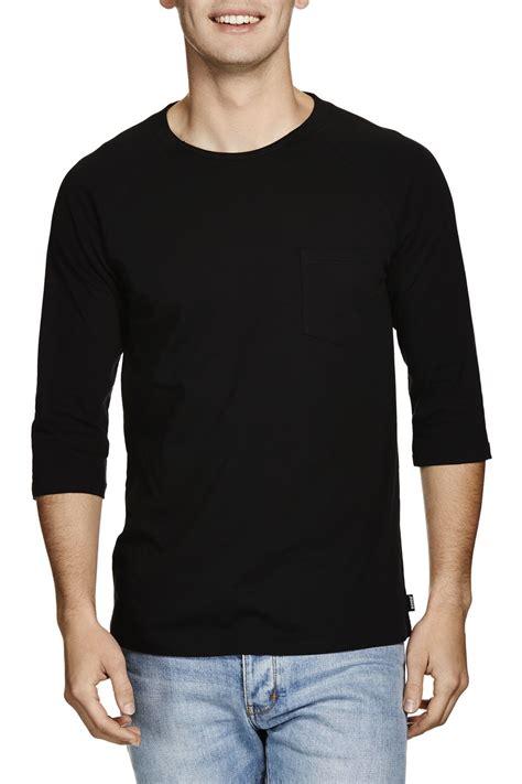 Raglan 3second 4 black raglan 3 4 sleeve shirts view 3 4 sleeve shirts yoozze product details from nanchang
