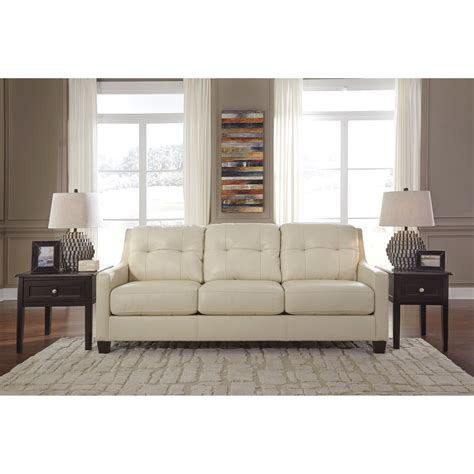 ashley tufted sofa ashley signature design o kean 5910238 contemporary