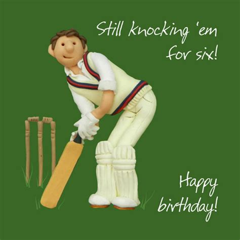 Cricket Gift Card - cricket happy birthday card one lump or two cards love kates