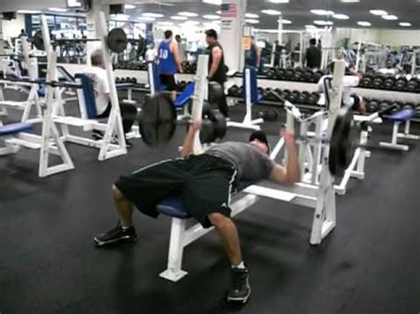 tiger woods bench press max my bench press routine 6 2 quot 172pds youtube