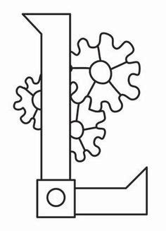 Letter Transfer Paper steam motifs gun design uth2331 from urbanthreads