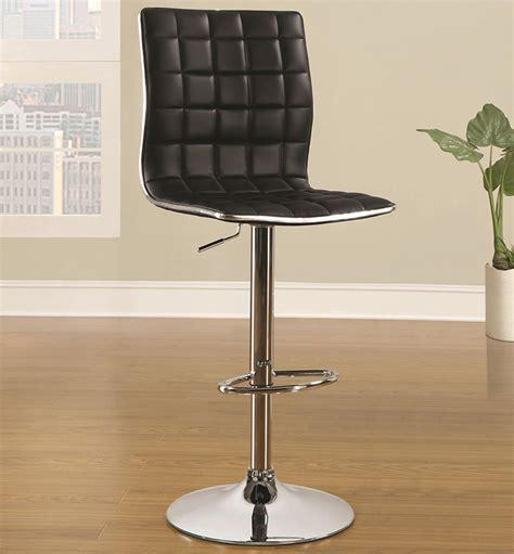 Coaster Furniture Bar Stools by Coaster Furniture 122087 Waffle Adjustable Bar Stool