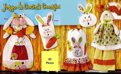 juegos de cocina lenceria bs patron para elaborar juego de cocina conejos lenceria