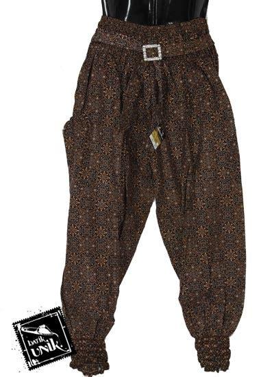 Celana Aladin Motif Grosir Celana Aladin Saquilla Ukuran L baju batik celana aladin katun motif kembang batik bawahan rok murah batikunik
