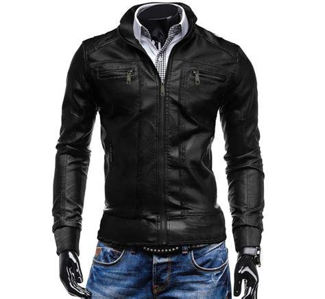 chaqueta cuero hombre calidad chaqueta hombre cuero sintetico dise 241 o ropa