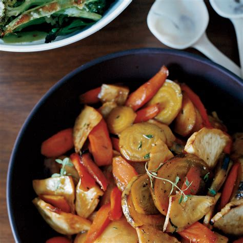 roasted root vegetable recipes with honey honey glazed roasted root vegetables recipe grace parisi