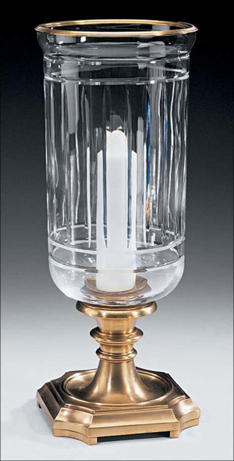Crystal Hurricane Lamp and Cut Crystal Hurricane Lamp