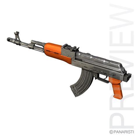 Ak 84 Engine Model Kit 3d model of ak 74 kalashnikov rifle assault