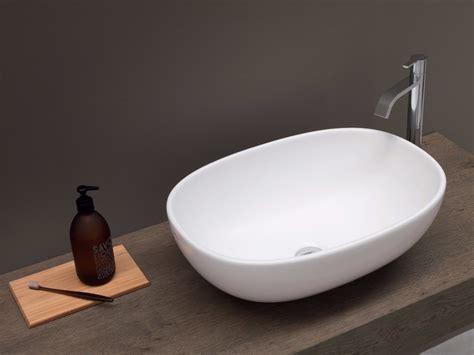 nic design vaso milk milk countertop washbasin by nic design